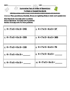 5th Grade Common Core Standards On Parentheses Common Core Standards Core Standards Common Core