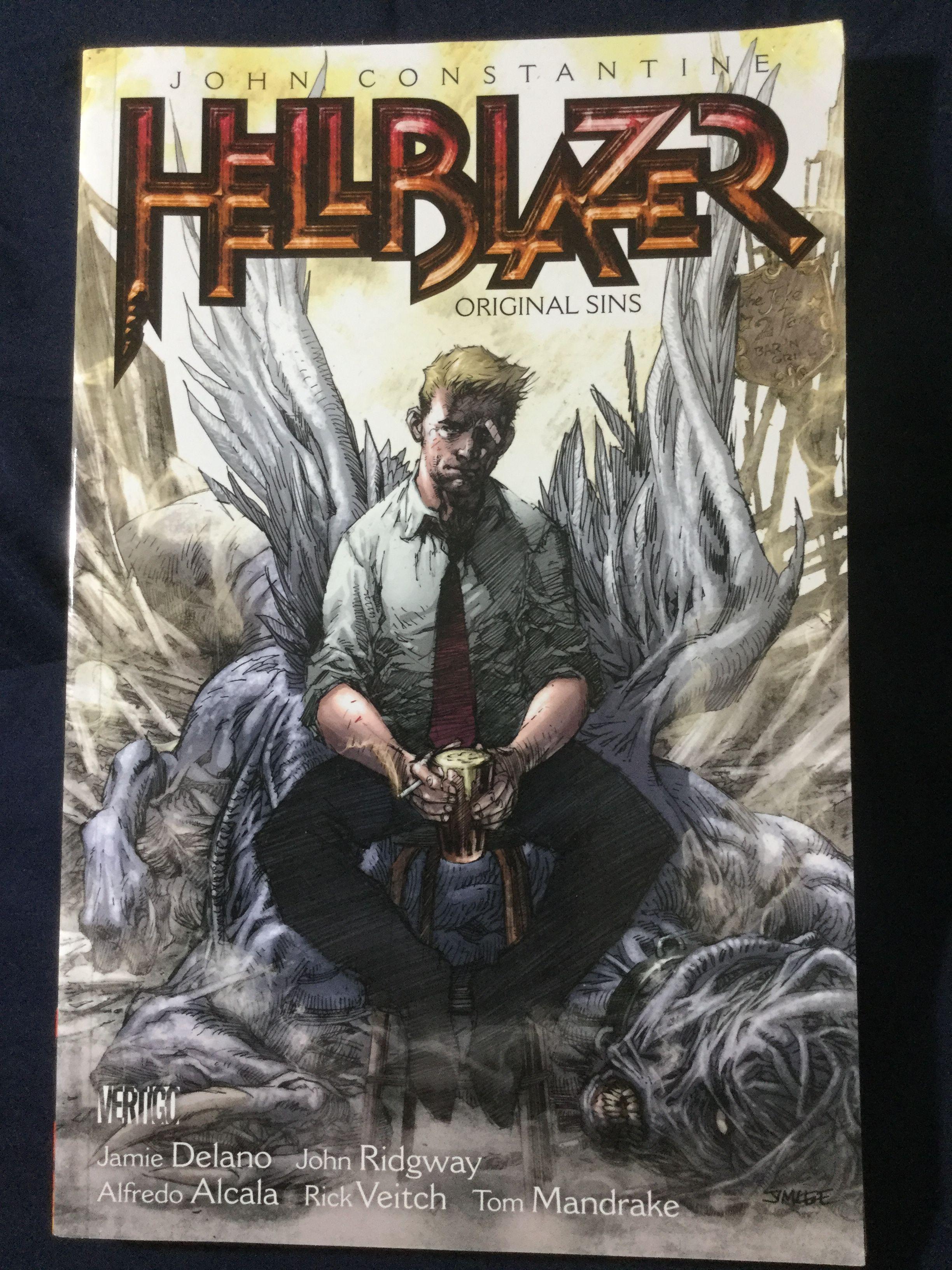 John Constantine, Hellblazer: The Original Sins TPB ( 1992 DC Vertigo )
