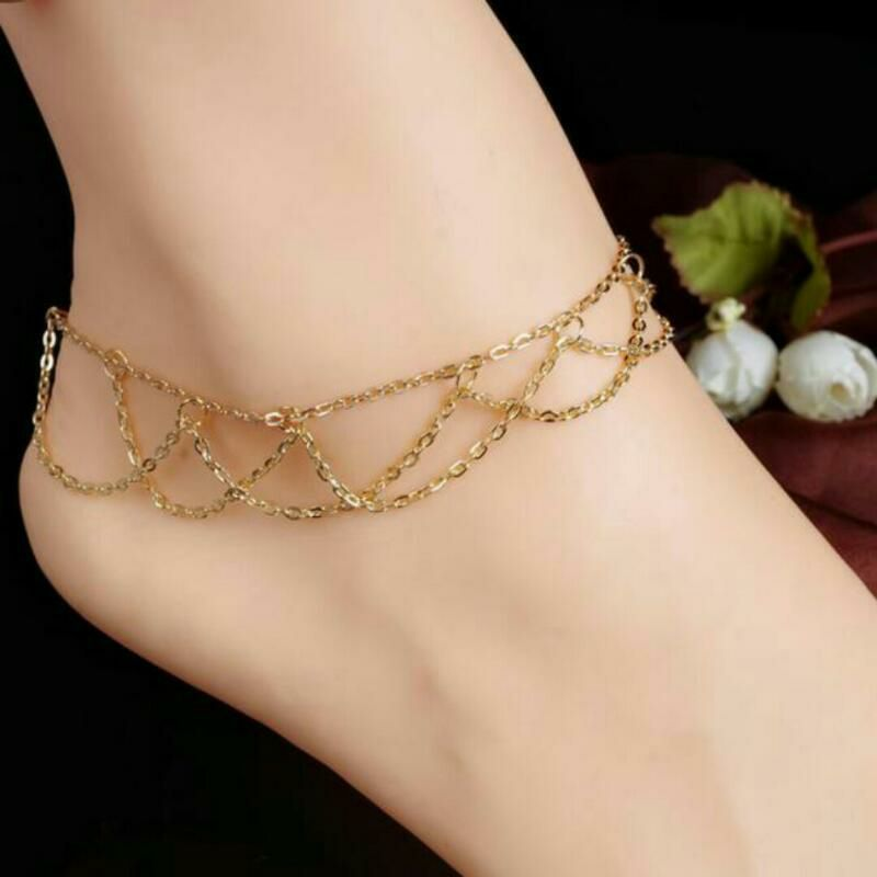 74b894e12529a anklet chain designs #anklet designs in gold #gold anklets designs ...