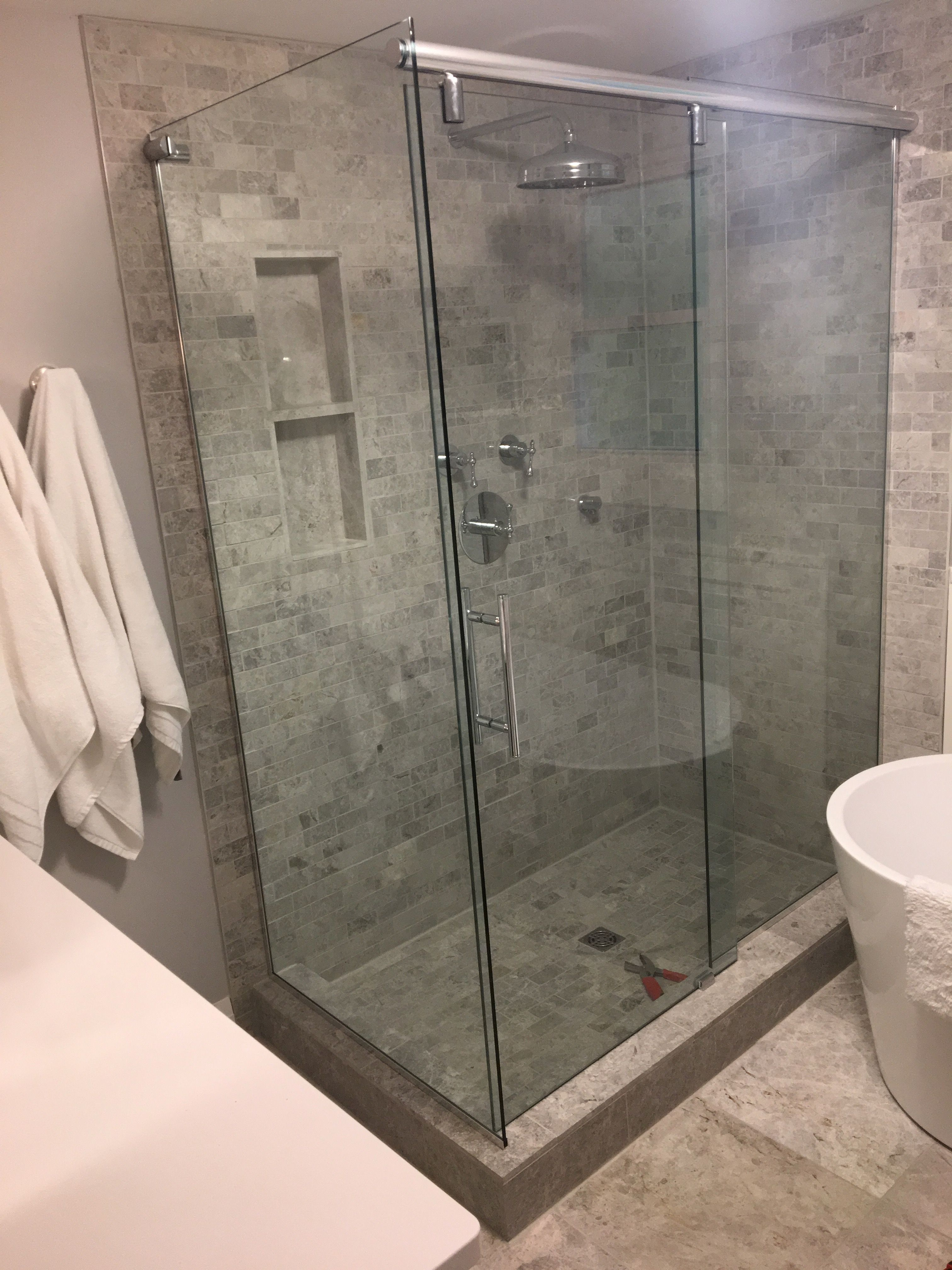 10mm clear tempered glass shower enclosure sliding door system 10mm clear tempered glass shower enclosure sliding door system instead of a swing door eventelaan Image collections