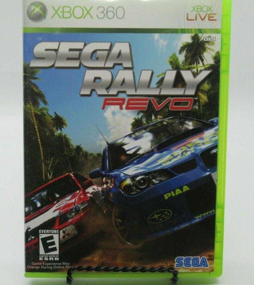 Sega Rally Revo Game For Xbox 360 Case Game Manual Rip Up The Track Guc In 2020 Sega Playstation Sega Games