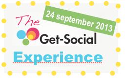 The Get Social Experience 2013, 16 social media sprekers. 24 september 2013, georganiseerd door Jeanet Bathoorn