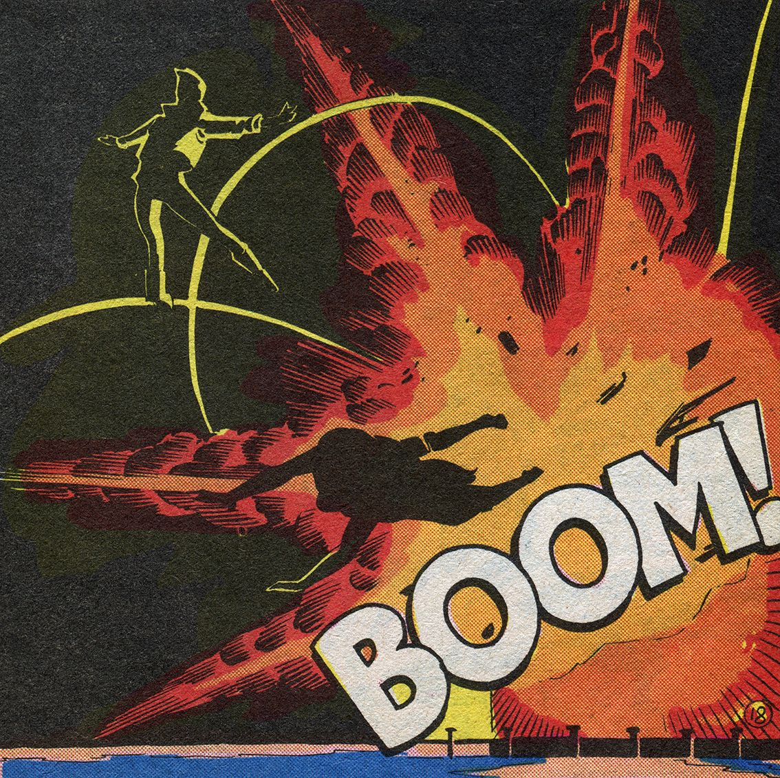 Boom - Art by Paul Smith (1983)