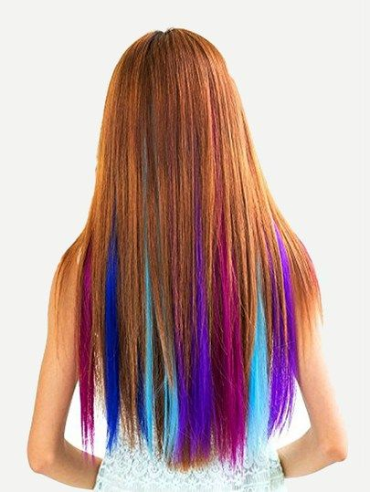 12 Color Clip In Hair Extension Clip In Hair Extensions Hair Extensions Long Hair Styles