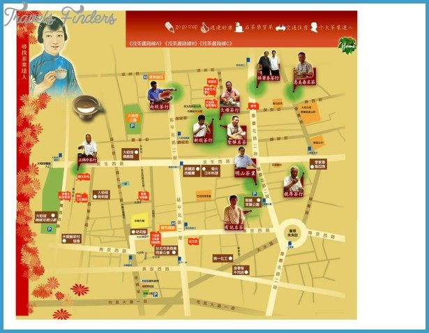 taichung map tourist attractions httptravelsfinderscomtaichung map