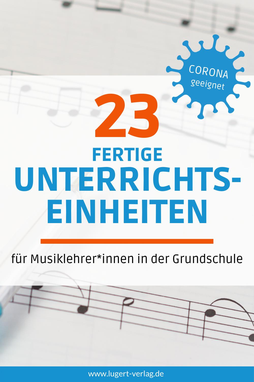 20 Corona geeignete Unterrichtseinheiten für den Musikunterricht ...