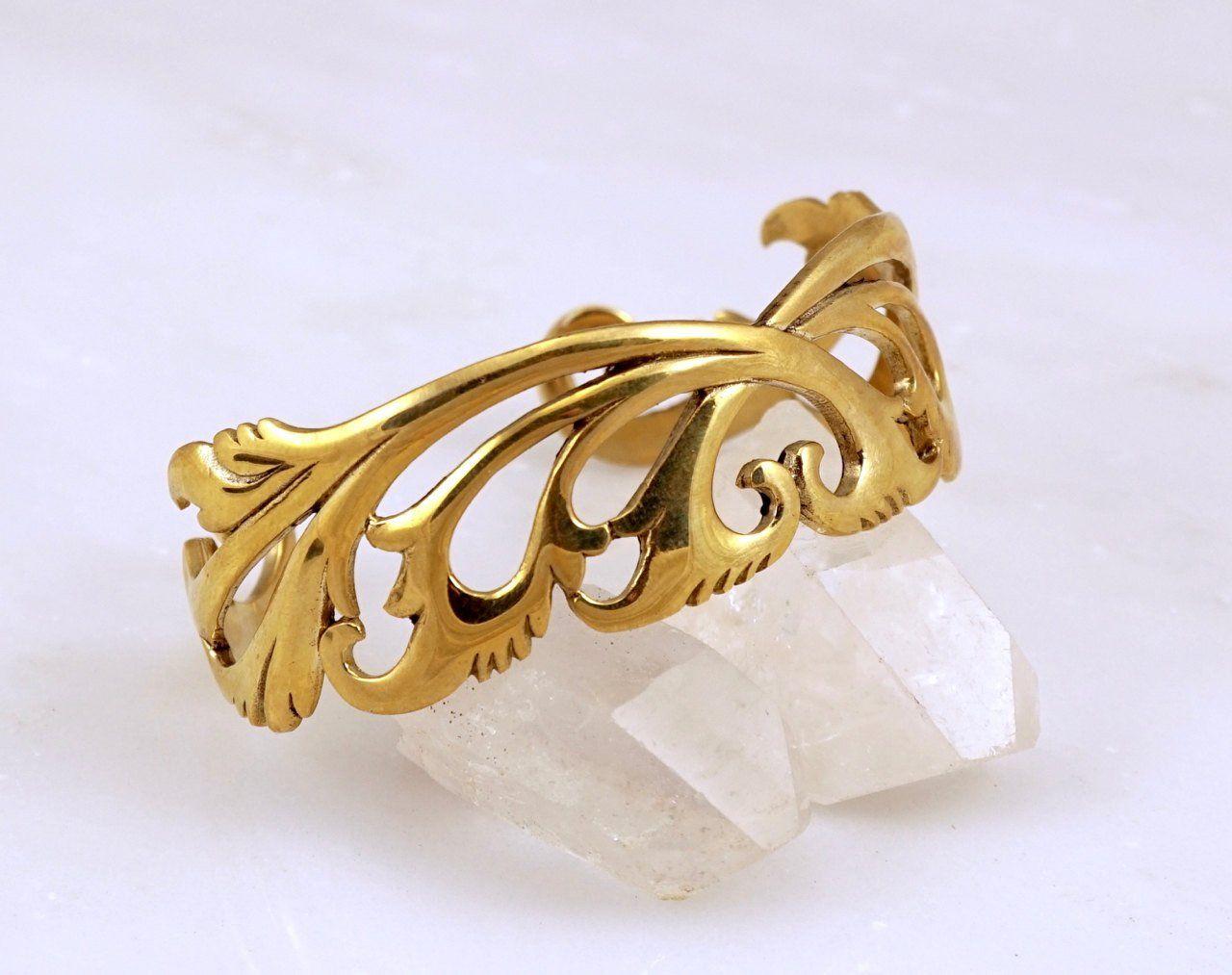 Breathless cuff bracelet brass products pinterest tribal