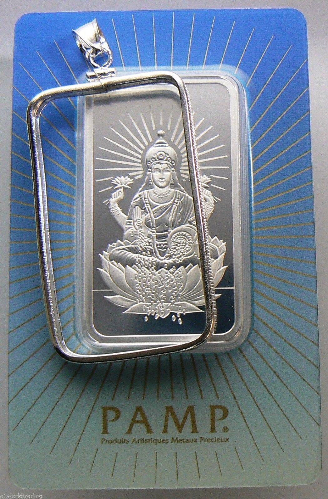 Bezel Bar Pamp Suisse 1 Oz Silver Religious Design 999 Scootsdale The One 1oz Lakshmi