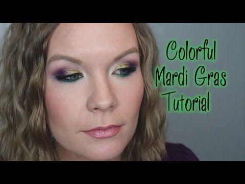 ▶ Colorful Mardi Gras Tutorial! - YouTube