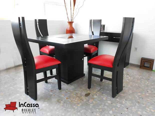 Antecomedor modelo lisboa incassa muebles fabricante for Sillas para antecomedor