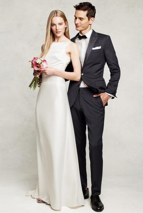 J.Crew Percy gown (front)   wedding!   Pinterest   Wedding stuff ...