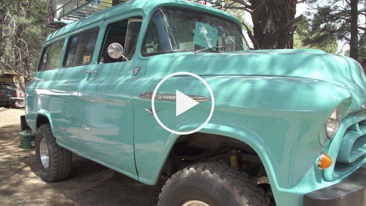 A Swoon Worthy Overlanding 1957 Suburban Overlanding Chevy