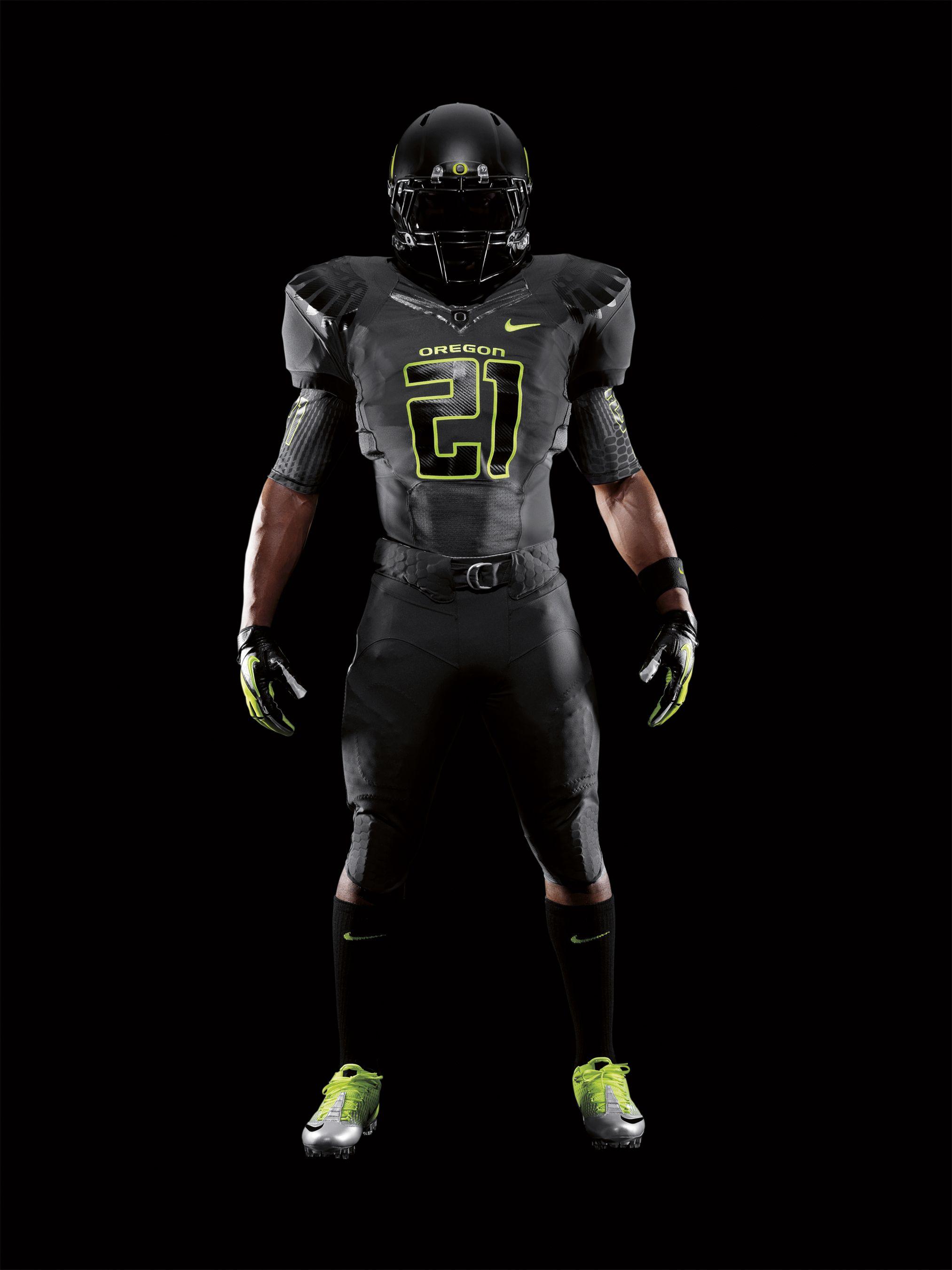 Tron Goes To Oregon Nike Pro Combat Uniforms Amazing