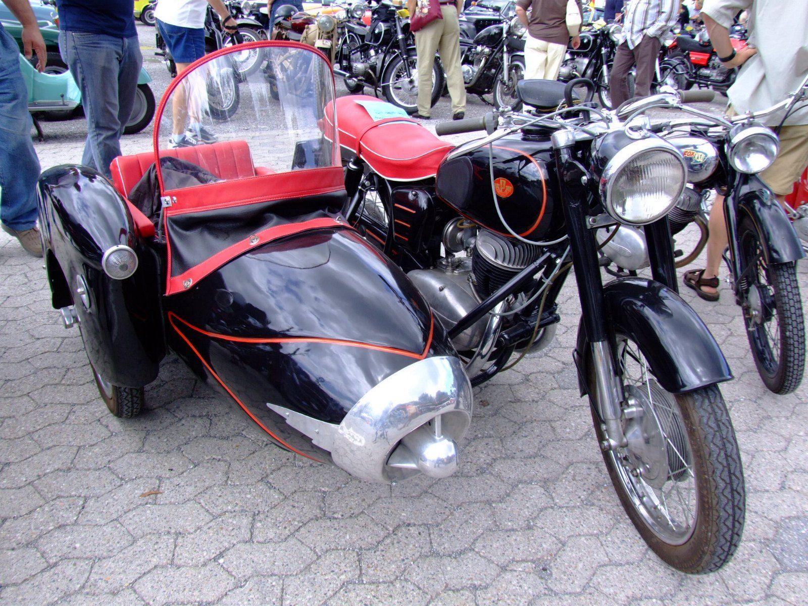 Csepel Pannonia Motorcycle
