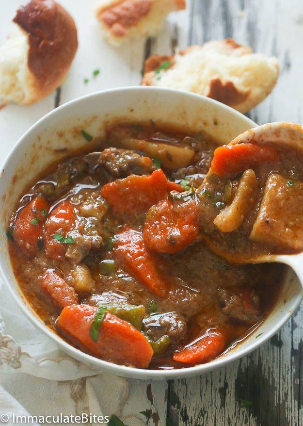 Slow Cooker Jamaican Beef Stew Jamaican Beef Stew Slow Cooker