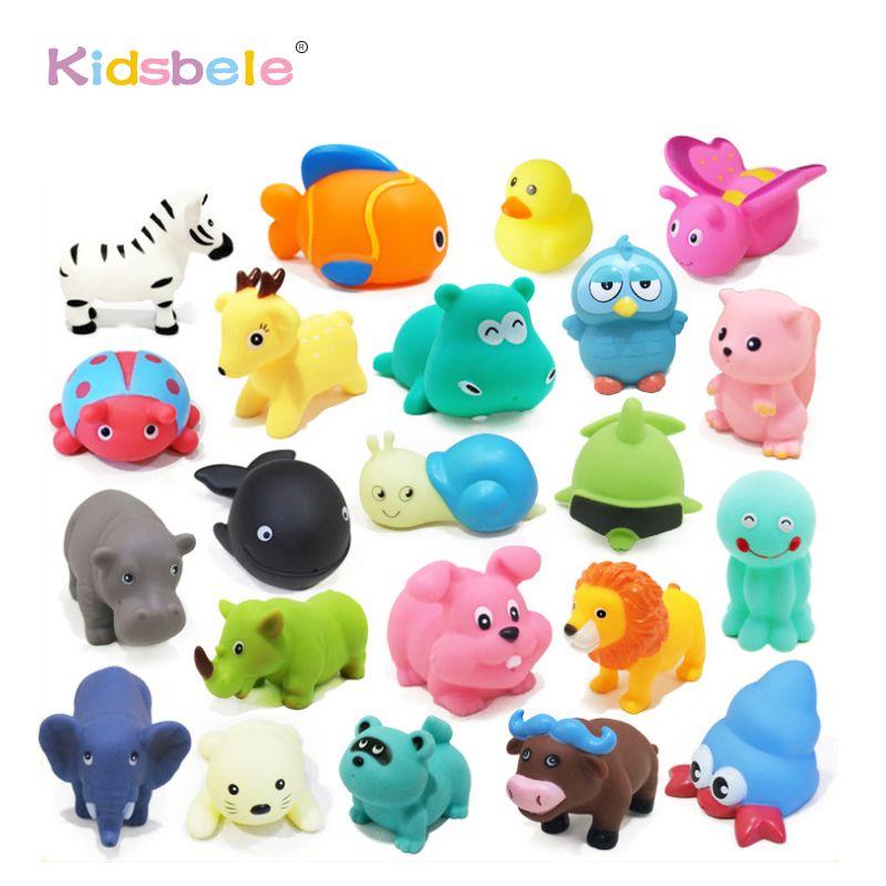 Juguetes del ba o del beb 20 unids soft rubber duck - Juguetes bano bebe ...