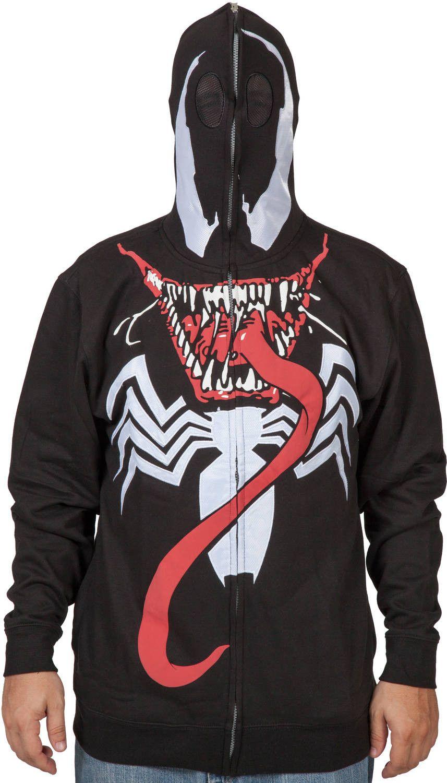Marvel DC Comics Boys Superhero Long Sleeve Hoodie Costume Ironman Shirt w// Mask
