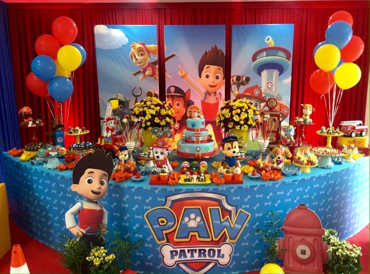 Imagen relacionada Patrulla canina Pinterest Paw patrol, Paw patrol party and Birthdays