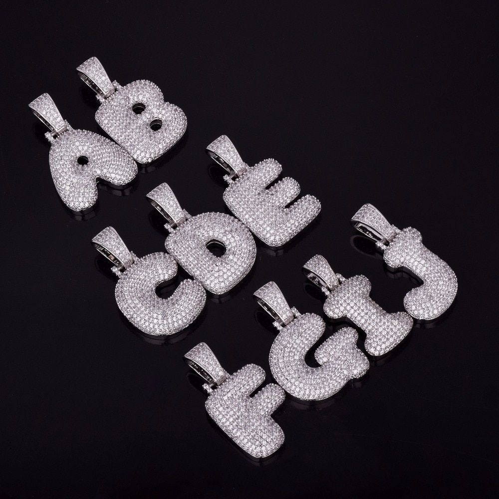 23++ Custom bubble letter pendant trends