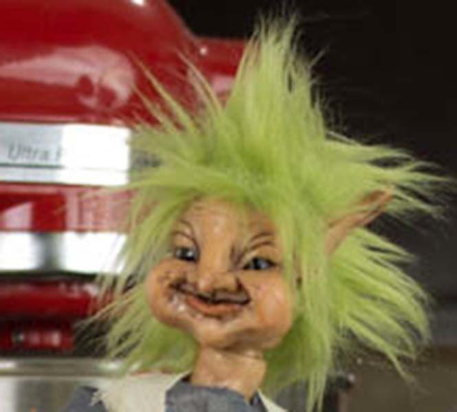 OOAK Goblin Troll Art Doll Fantasy Art Doll by Nina Bolen Fairy Folk Art Doll http://www.ebay.com/itm/291159155166?ssPageName=STRK:MESELX:IT&_trksid=p3984.m1555.l2649