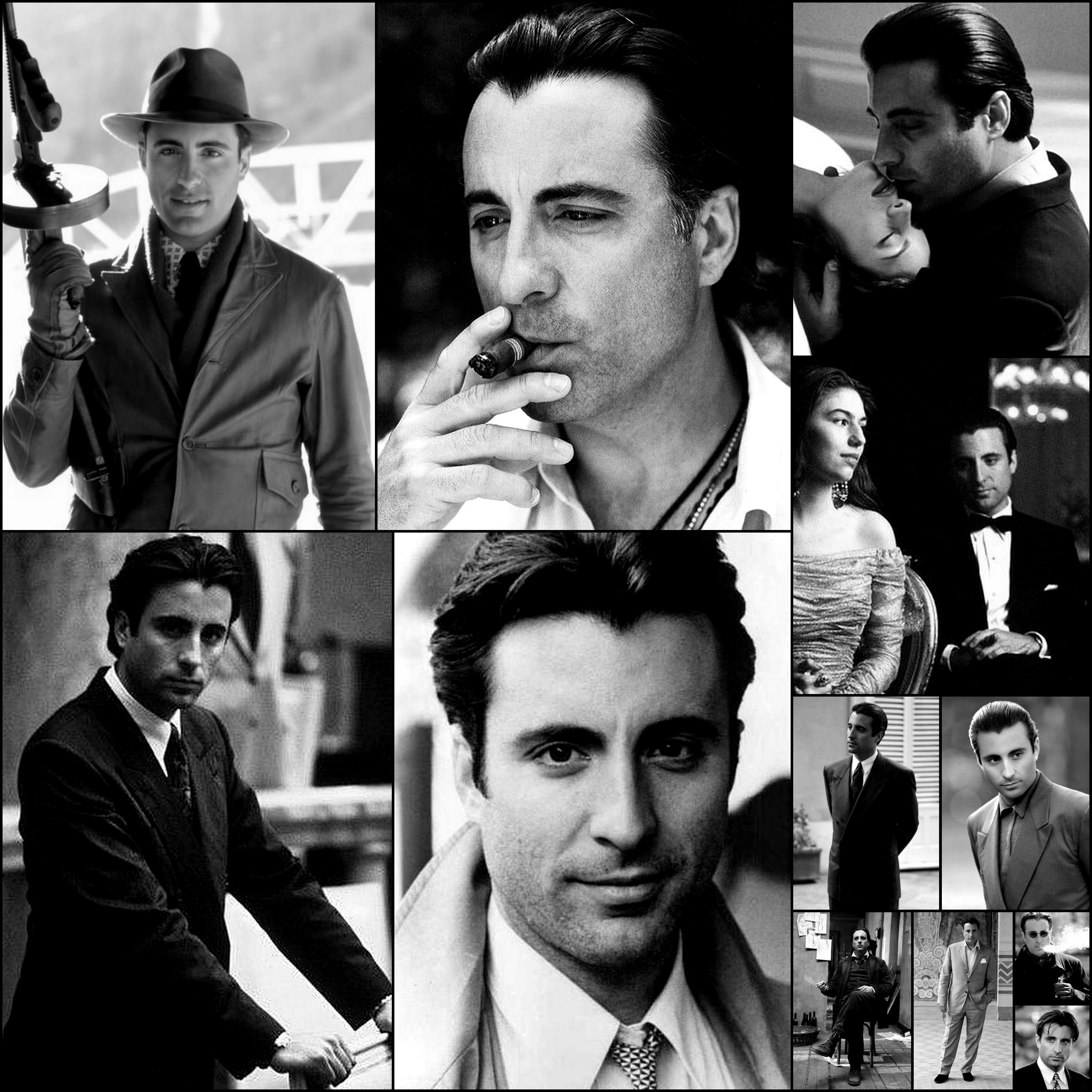 Andy Garcia Picture Collage | Actor, Hollywood walk of fame
