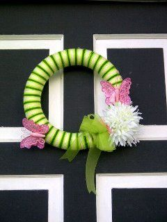 Spring Wreath, made by Me, Inspired by Pinterest