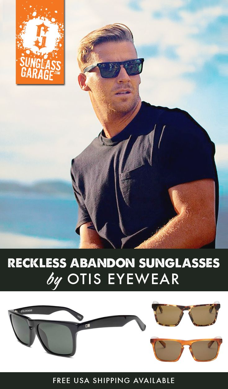 534e62a9ac Otis Reckless Abandon Sunglasses by Otis Eyewear draw inspiration from  iconic vintage eyewear pieces. This frame will be equally suitable for both  men and ...