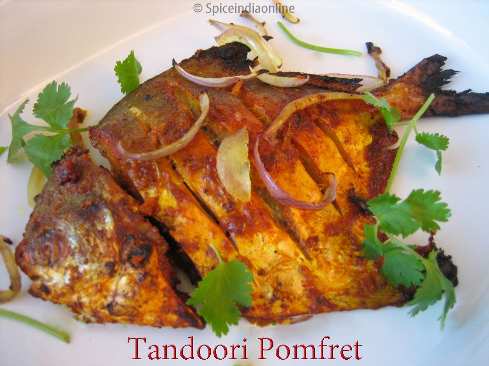 Tandoori Pomfret Recipe Baked Silver Pomfret Vavval Meen