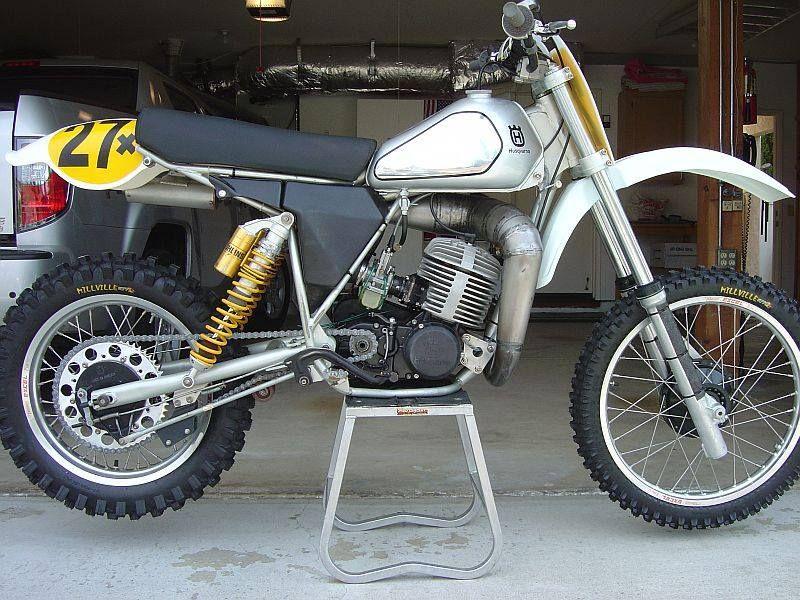 1981- Husqvarna 250CR restored