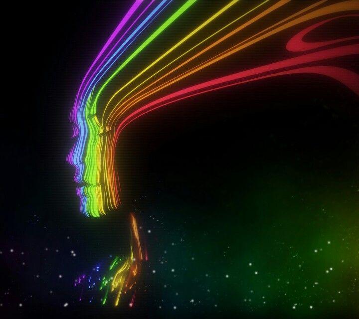Rainbow Abstract, Rainbow Wallpaper