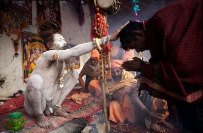 Fotografías místicas de la India