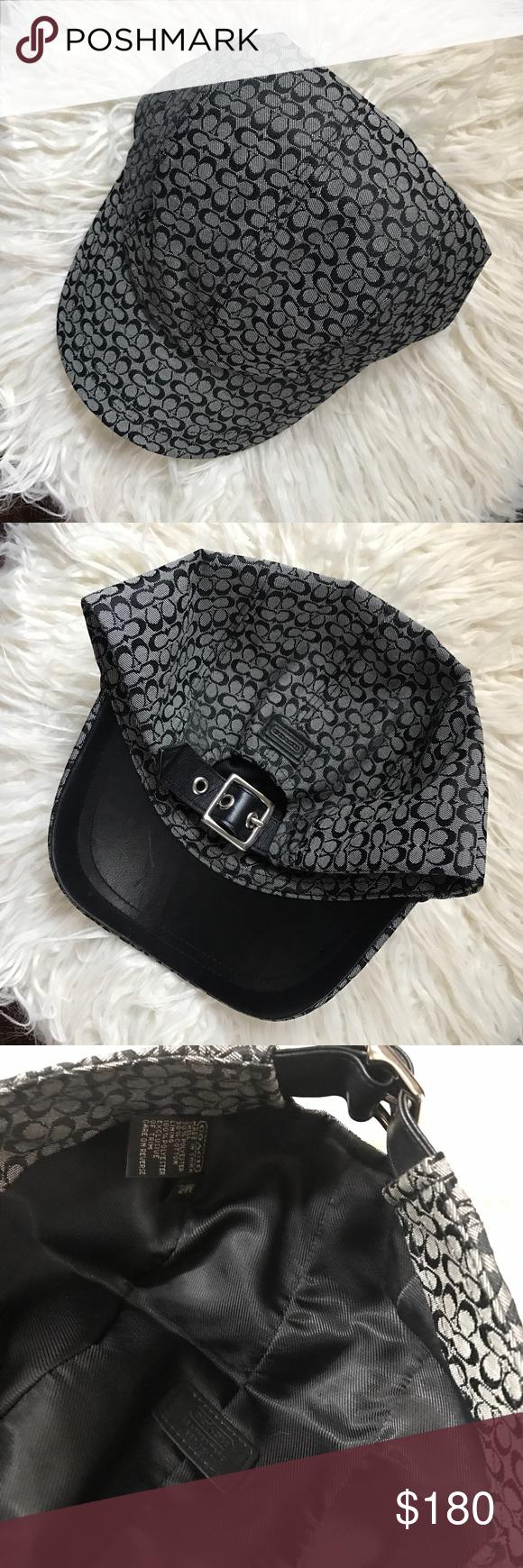 Coach Signature Baseball Cap Like new! Great condition! Coach Accessories  Hats 57e48b769f0