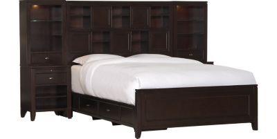 Bedrooms, Midtown Queen Wall Bed, Bedrooms | Havertys Furniture