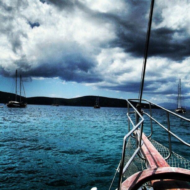 Sailing in Gokova Gulf - @jayhpho- #webstagram