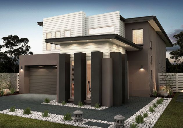 Architecture modern minimalist house design ideas porch for Modern house facade home design