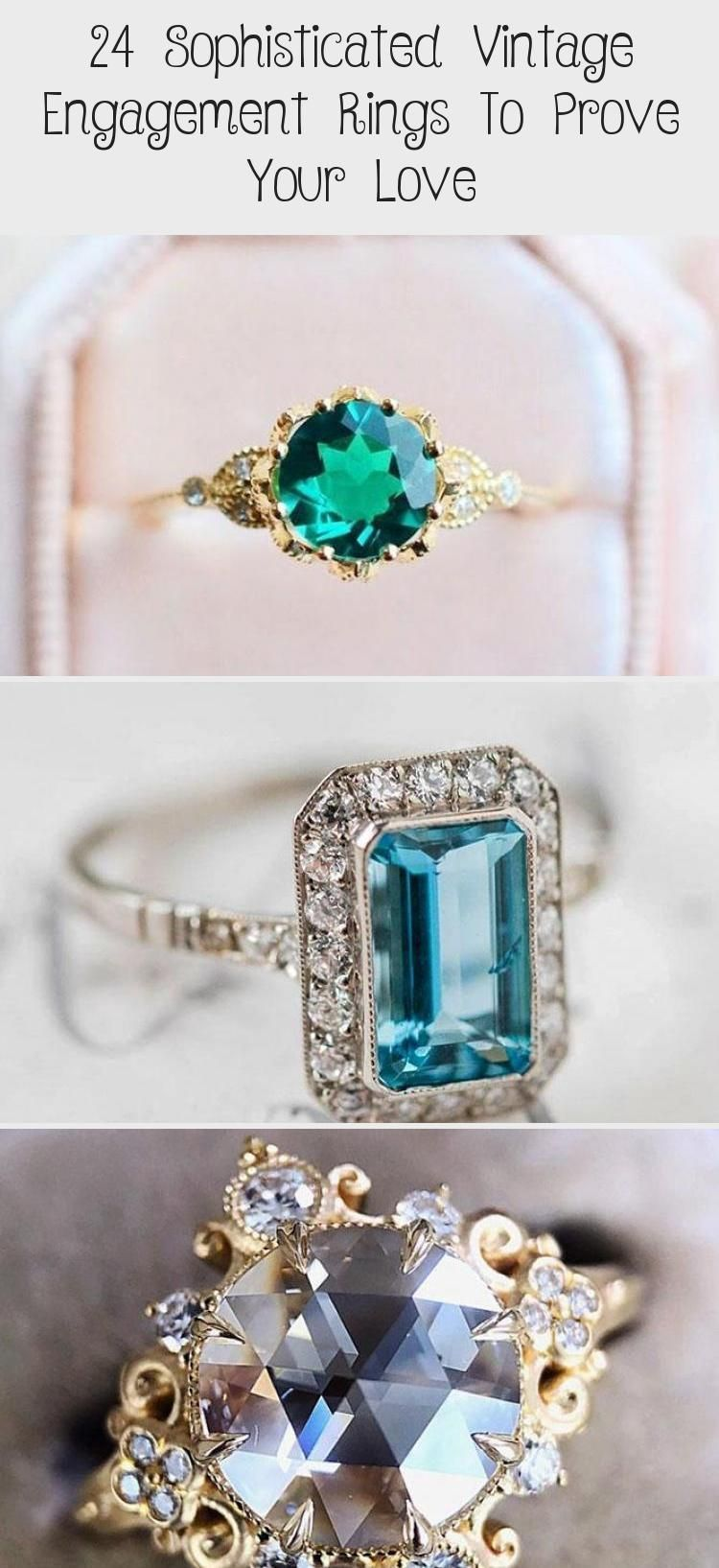 Sophisticated Vintage Engagement Rings To Prove Your Love ★ #engagementring #p...,  #Engageme...,  #Engageme #Engagement #engagementring #howtomakeaweddingplannerbinder #Love #Prove #Rings #Sophisticated #Vintage
