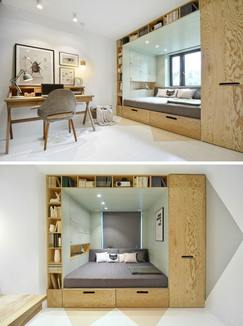 14 inspirational bedroom ideas for teenagers built in storage rh pinterest com