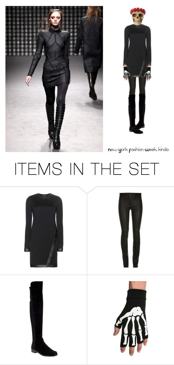"""""""NEW YORK FASHION WEEK, KINDA"""" by paula-parker ❤ liked on Polyvore featuring art"""