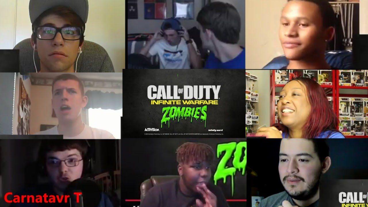 Call of Duty: Infinite Warfare - Zombies in Spaceland Reveal Trailer Rea...
