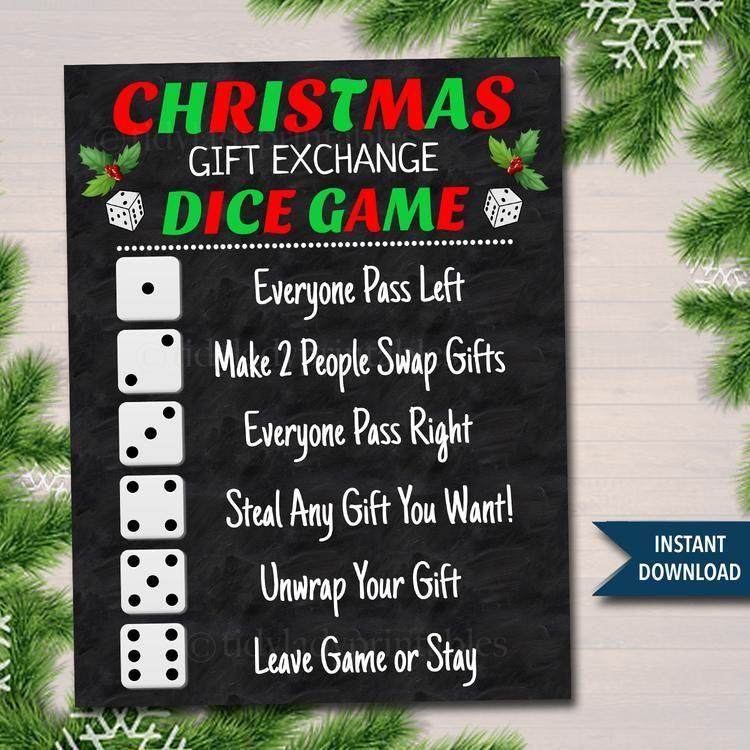 Christmas Games For Family Simple Christmastree Snowytrees Christmasdecor In 2020 Christmas Gift Exchange Games Christmas Gift Games Fun Christmas Games