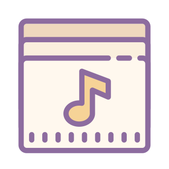 Music Icons In Cute Color Style For Graphic Design And User Interfaces In 2020 Iphone App Design Cute App App Store Icon