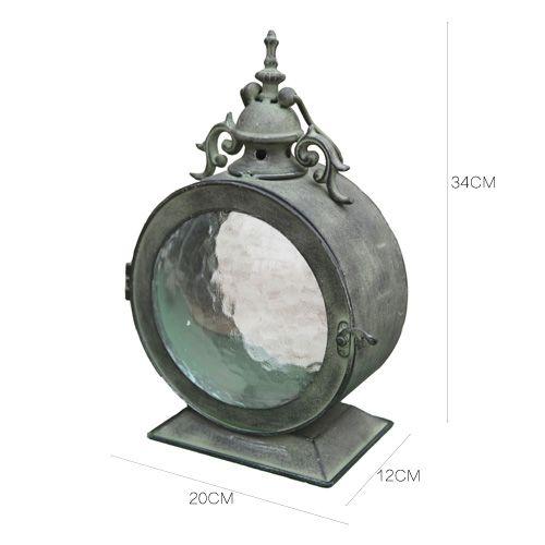 複古懷舊鐵藝風燈燭台 派對樣板間庭院軟裝飾品 美式鄉村拍攝道具-淘宝网全球站
