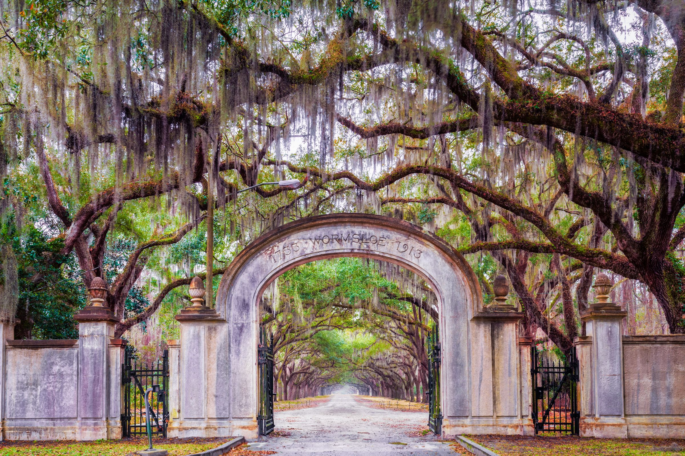 Georgia: Wormsloe Plantation | The most beautiful places in each state