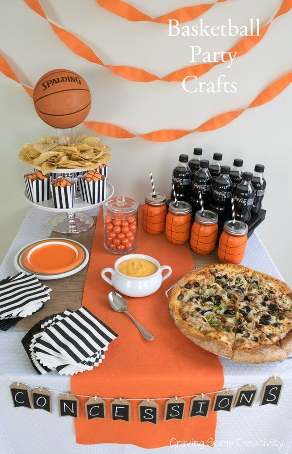 DIY Basketball Party Ideas