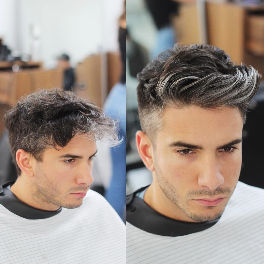 Fade Hairstyle Before And After