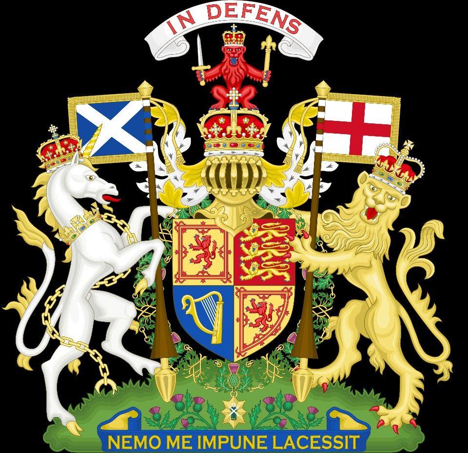 El Escudo Real De Armas En Escocia Flag Coloring Pages Coat Of