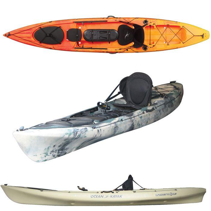 Ocean kayak prowler trident 13 angler sit on top fishing for Ocean kayak fishing