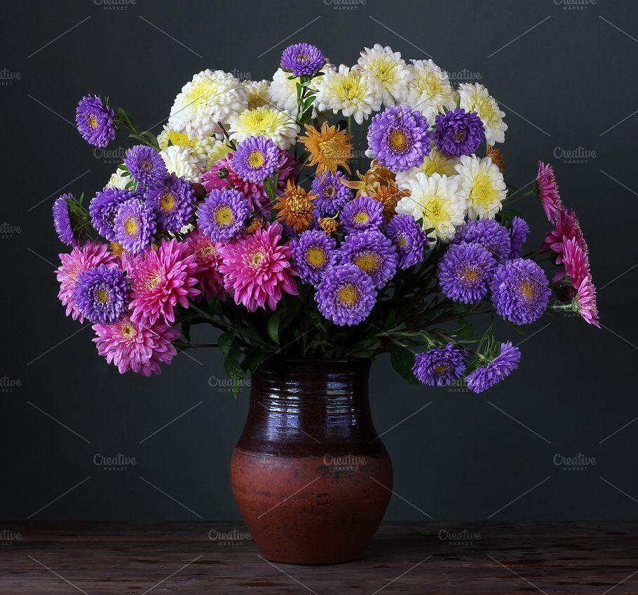 Bouquet Bouquet Fall Bouquets Flower Vases