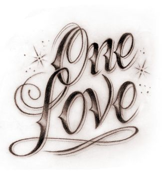 One Love Tatoo Fixers Picture Tattoos Love Heart Tattoo Tattoos