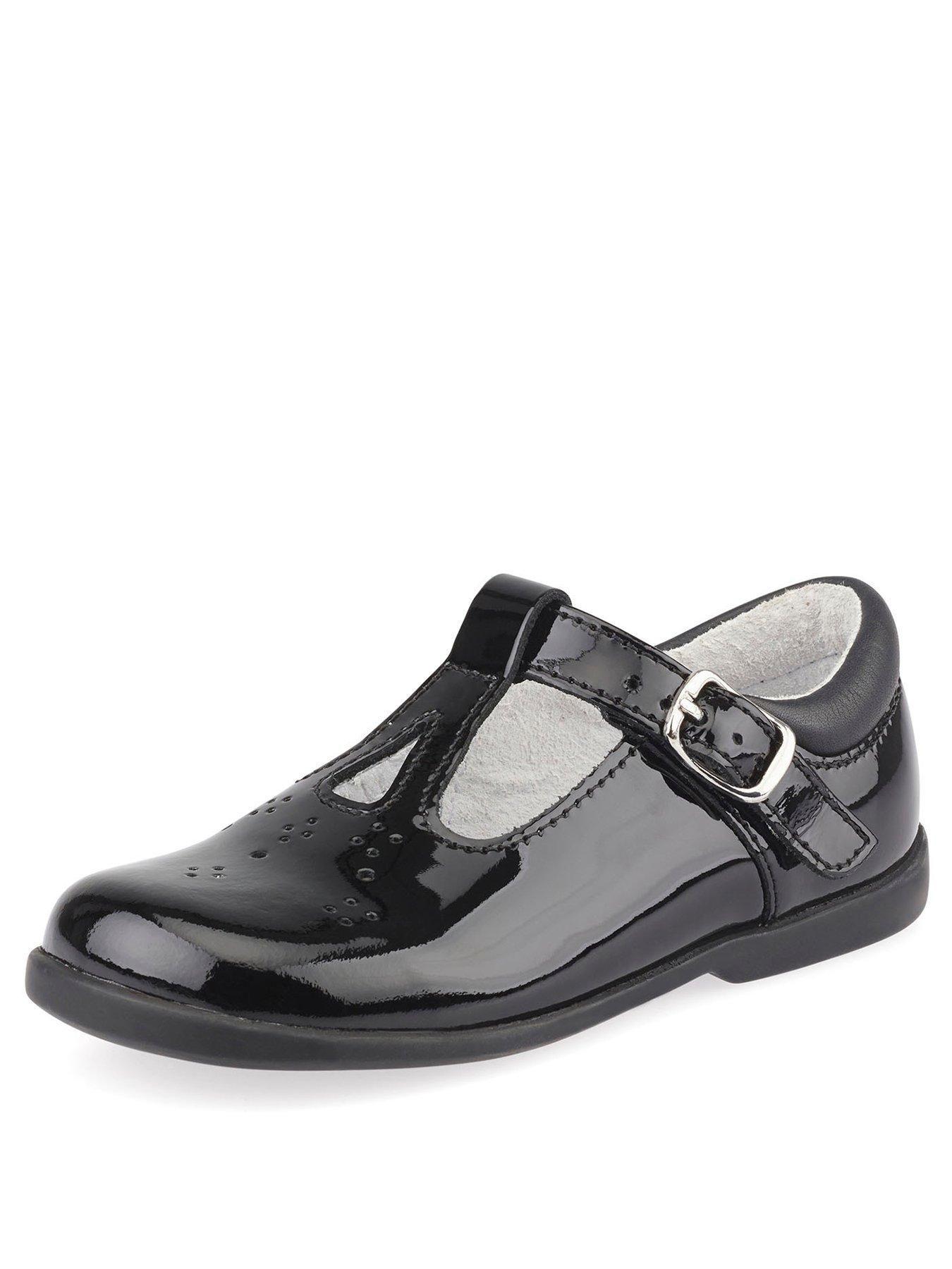 Start-rite Swirl Girls White Patent Shoe